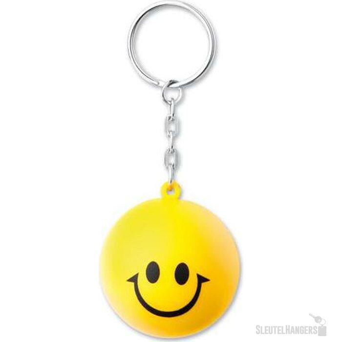 Sleutelhanger Keysmile geel