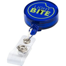 Lech rollerclip Transparant blauw