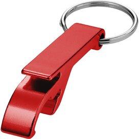 Tao sleutelhanger met fles en blikopener Rood