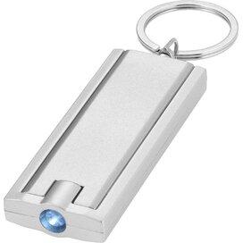 Zaklamp met sleutelhanger Zilver