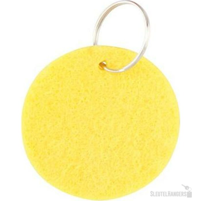Sleutelhanger Jordy geel