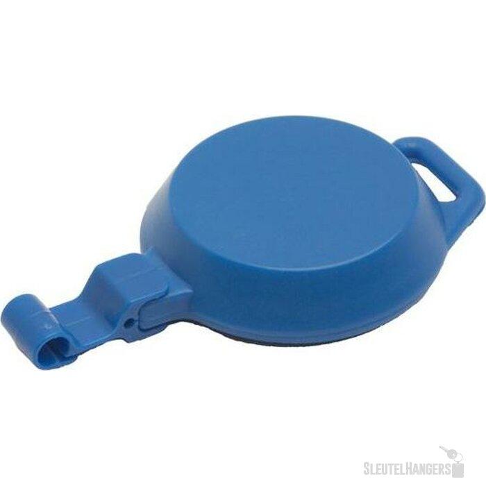 1b7a2e1ccfa Jojo kaarthouder met langwerpige opening kunststof blauw