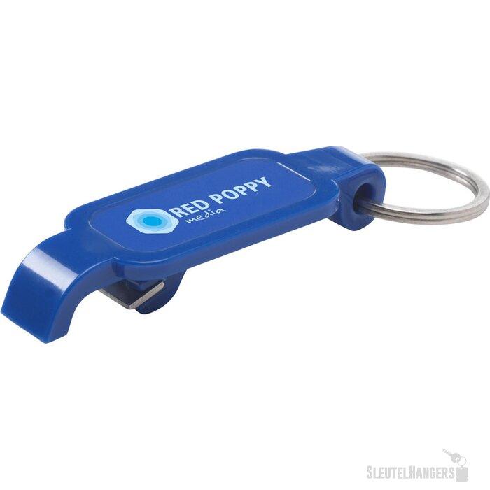 Check-Up Sleutelhanger/opener Blauw