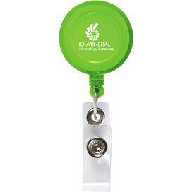 Badgeclip Badgehouder Transparant Groen