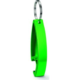 Aluminium sleutelhanger Colour Twices Lime groen