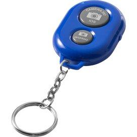Selfie sleutelhanger met Bluetooth afstandsbediening voor camera koningsblauw