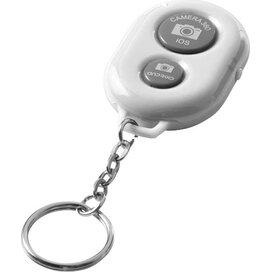 Selfie sleutelhanger met Bluetooth afstandsbediening voor camera Wit