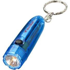 Bullet sleutelhangerlamp blauw Transparant blauw