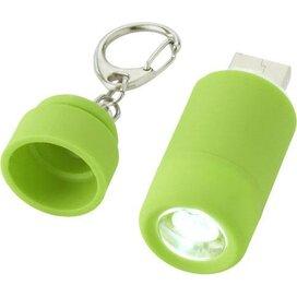 Avior oplaadbaar USB-sleutelhangerlampje Groen
