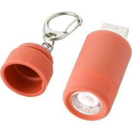 Avior oplaadbaar USB-sleutelhangerlampje Rood