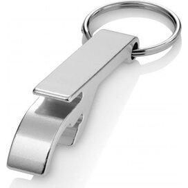 Sleutelhanger met flesopener Crewe zilver