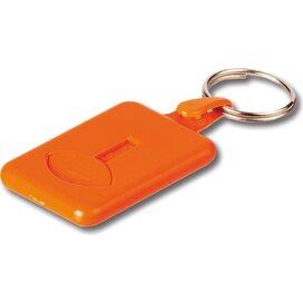 Sleutelhanger Met Winkelwagenmuntje  0,50 Graciosa Oranje
