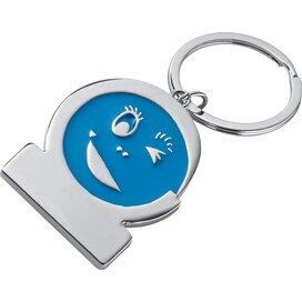 Sleutelhanger Gezicht blauw