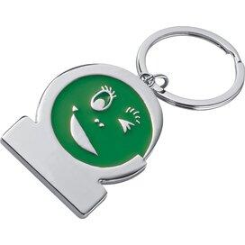 Sleutelhanger Gezicht groen