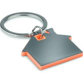 Huisvormige sleutelhanger Imba Oranje