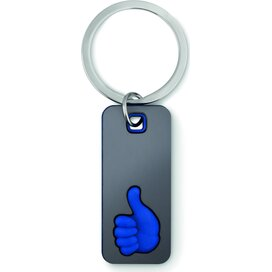 Sleutelhanger Thumbs up Mily (Kobalt) blauw