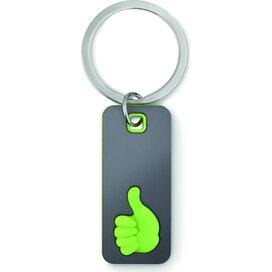 Sleutelhanger Thumbs up Mily Lime groen