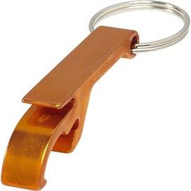 Sleutelhanger met flesopener Crewe oranje Oranje