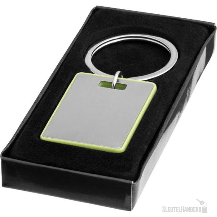 Donato sleutelhanger Zilver,limegroen