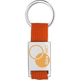 Alvaro sleutelhanger Zilver,Oranje