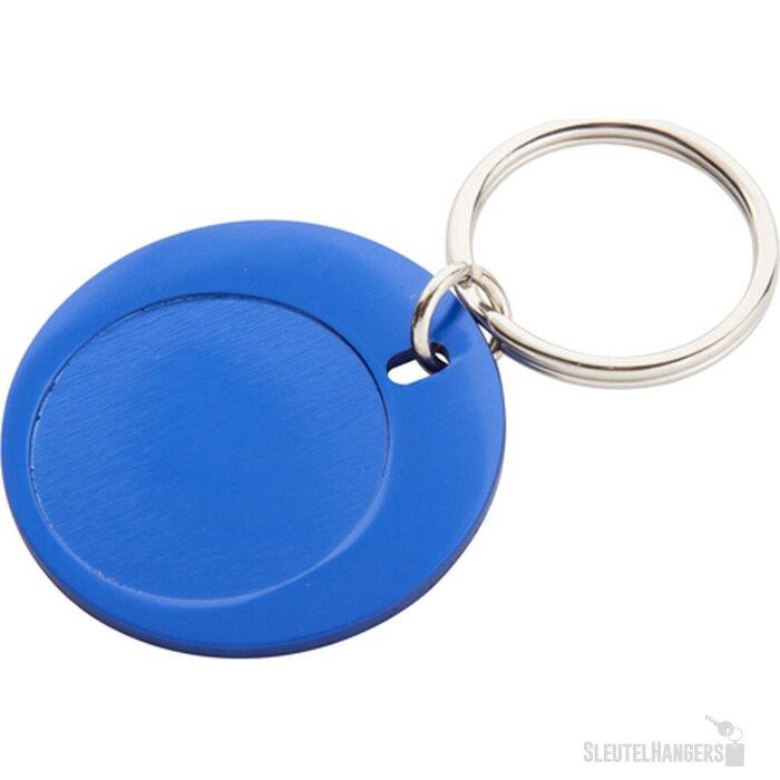 Luxar Ronde Sleutelhanger (Kobalt) Blauw