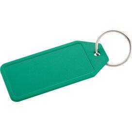 Plopp Plastic Sleutelhanger Groen