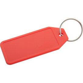 Plopp Plastic Sleutelhanger Rood
