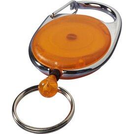 Gerlos sleutelhanger en rollerclip oranje Oranje
