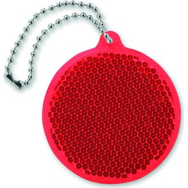 Reflector rond Catcho Rood