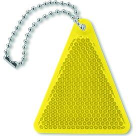Reflector driehoek Catcht Geel