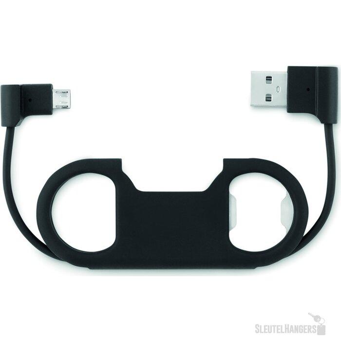 Sleutelhanger USB flesopener Salvado Zwart