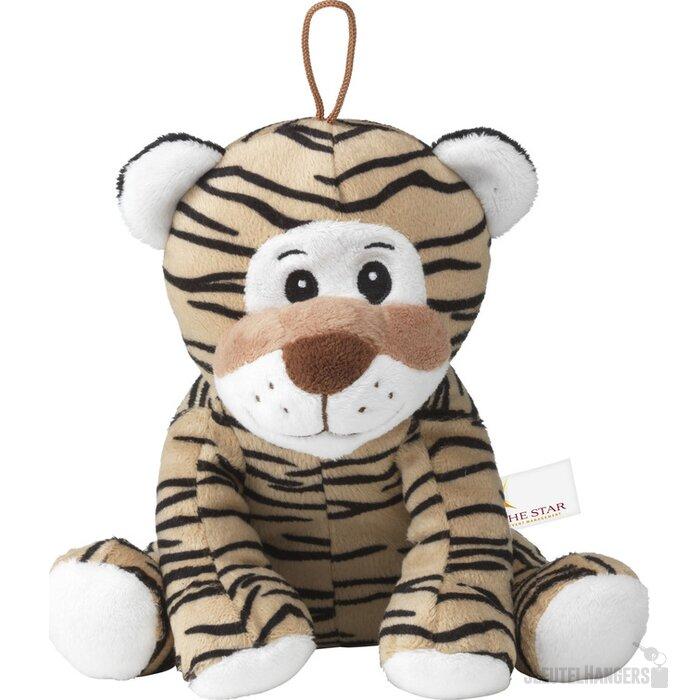 Tiger Pluche Tijger Knuffel Bruin