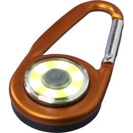 Eye karabijnhaak met COB licht Oranje