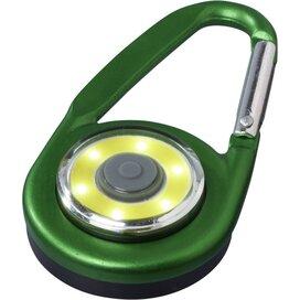 Eye karabijnhaak met COB licht Groen