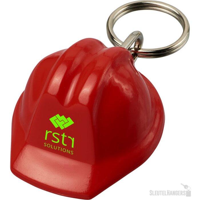 Kolt helmvormige sleutelhanger Rood