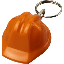 Kolt helmvormige sleutelhanger Oranje