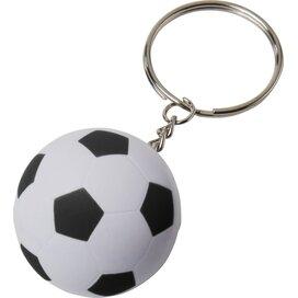 Striker voetbalsleutelhanger Wit,Zwart