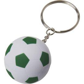Striker voetbalsleutelhanger Wit,Groen
