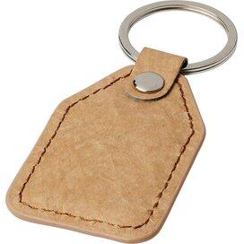 Pepier sleutelhanger Bruin