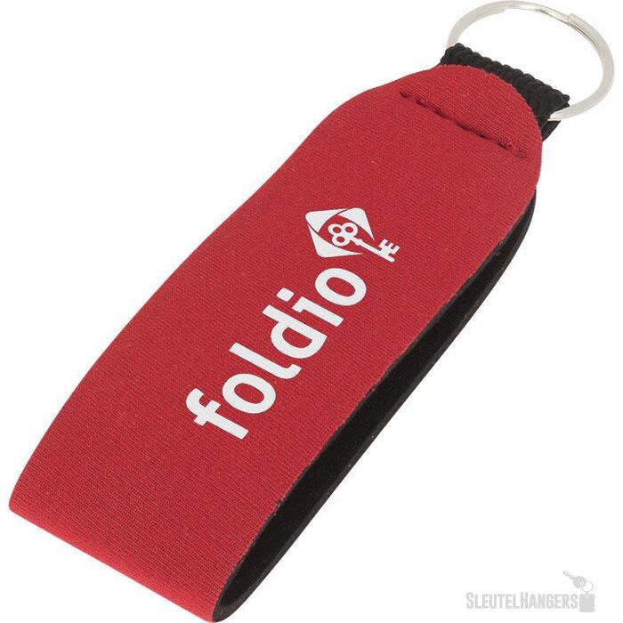 Vacay sleutelhanger met ring Rood