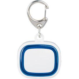 Sleutelhanger met licht, oplaadbaar 500 wit/blauw