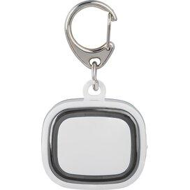 Sleutelhanger met licht, oplaadbaar 500 wit/zwart