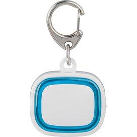 Sleutelhanger met licht, oplaadbaar 500 wit/lichtblauw