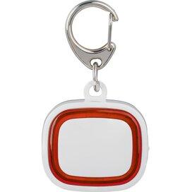 Sleutelhanger met licht, oplaadbaar 500 wit/rood