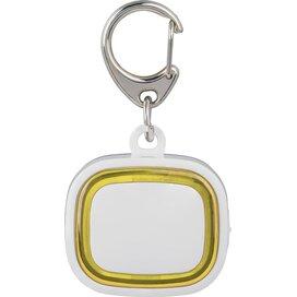 Sleutelhanger met licht, oplaadbaar 500 wit/geel