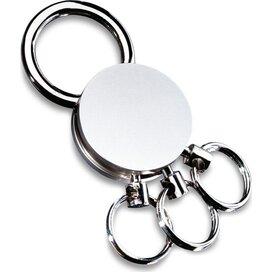 Sleutelhanger Multi zilver