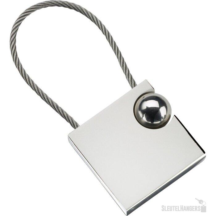 Sleutelhanger Maringá zilver
