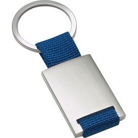Sleutelhanger Kemer blauw, zilver