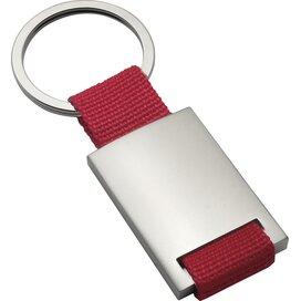 Sleutelhanger Kemer rood, zilver